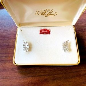 Vintage | Immaculate 1950s Sterling Silver Earring